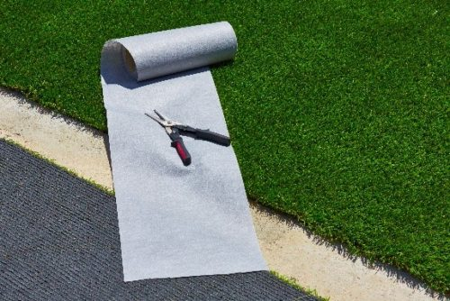 Low-Maintenance Exteriors and fake grass for age in place seniors