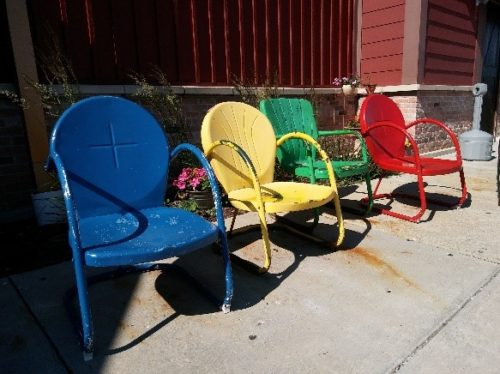 age in place sun chairs Low-Maintenance Exteriors