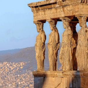 Health e-Bytes Caryatides, Acropolis of Athens