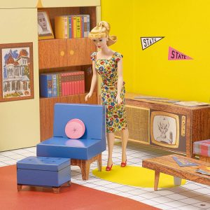 1962 Barbie Dream House for aging in place