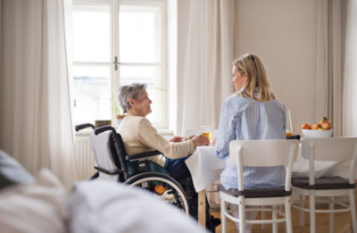 Caregiving and Aging in Place